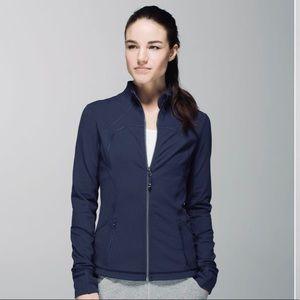 Lululemon Forme Jacket Cuffins Cadet Blue